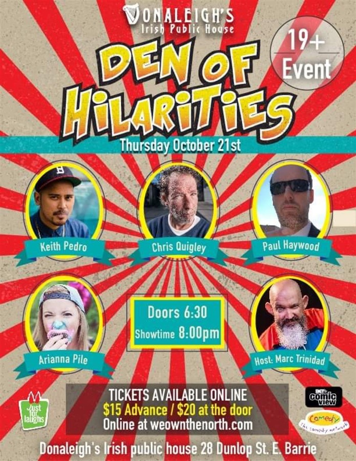 Get Information and buy tickets to Donaleigh