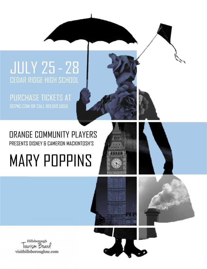 Get Information and buy tickets to Mary Poppins Thursday performance  on Orange Community Players
