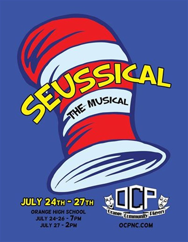 Get Information and buy tickets to Seussical - Sunday  on Orange Community Players