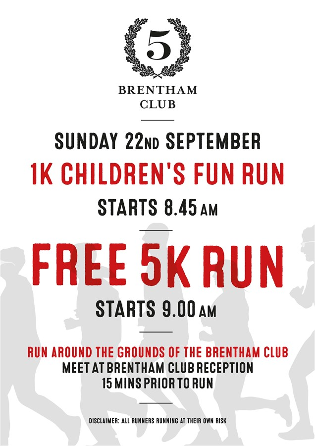 Get Information and buy tickets to The Brentham 5k Running Event For Adults and Children in Pitshanger on Brenthamclub.co.uk