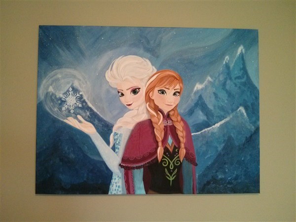 Get Information and buy tickets to Frozen Painting Sale  on Art By Christa