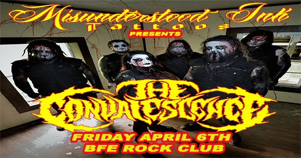 Get Information and buy tickets to Misunderstood Ink Tattoo Presents The Convalescence on BFE Rock Club