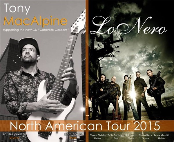 Get Information and buy tickets to CLUTCH CITY CYCLES Presents TONY MACALPINE on BFE Rock Club