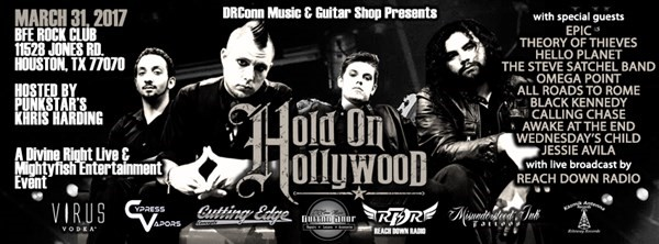 Get Information and buy tickets to DR. CONNS GUITARS PRESENTS Hold on Hollywood on BFE Rock Club