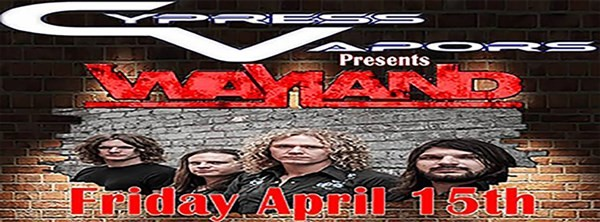 Get Information and buy tickets to CYPRESS VAPORS PRESENTS WAYLAND on BFE Rock Club