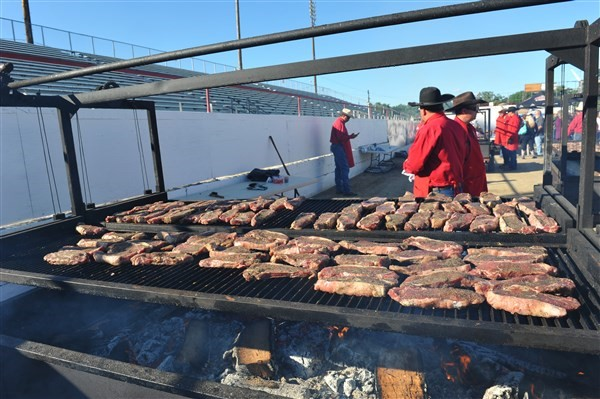 Get Information and buy tickets to Rodeo Week 2016 Kickoff BBQ Steak Feed  on Redding Rodeo Association