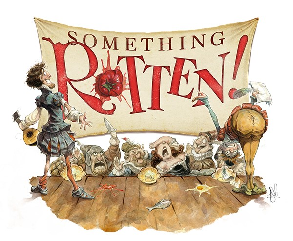 Get Information and buy tickets to Something Rotten!  on JHS Performing Arts
