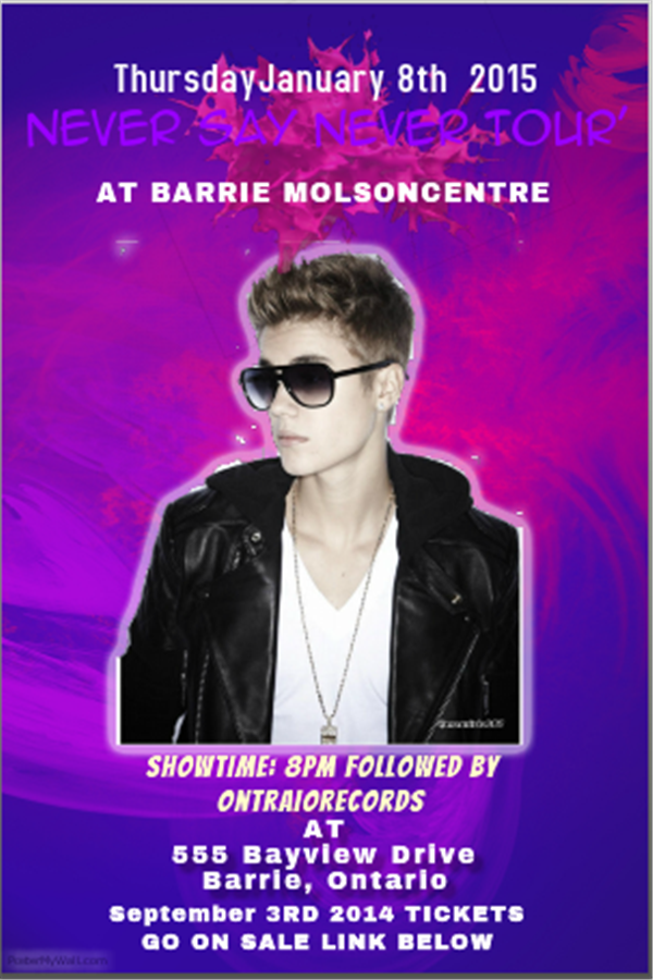 Get Information and buy tickets to Justin Bieber- Never Say Never