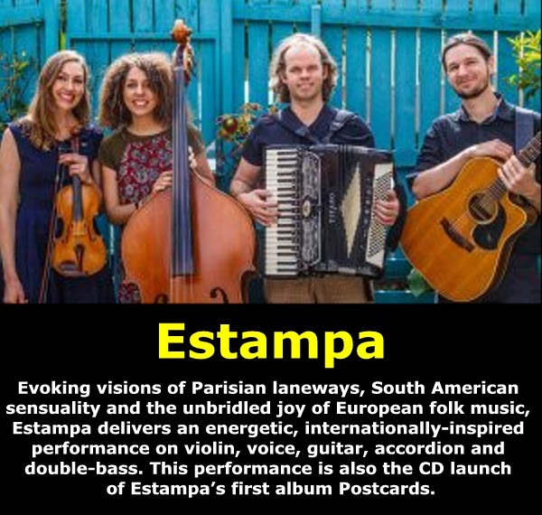 Get Information and buy tickets to Estampa Dec 14 @ 6:30 pm – 11:00 pm on Brisbane Jazz Club