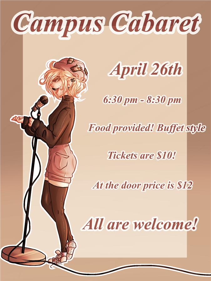 Get Information and buy tickets to Campus Cabaret ...to support the Success Program. on Burr and Burton Academy
