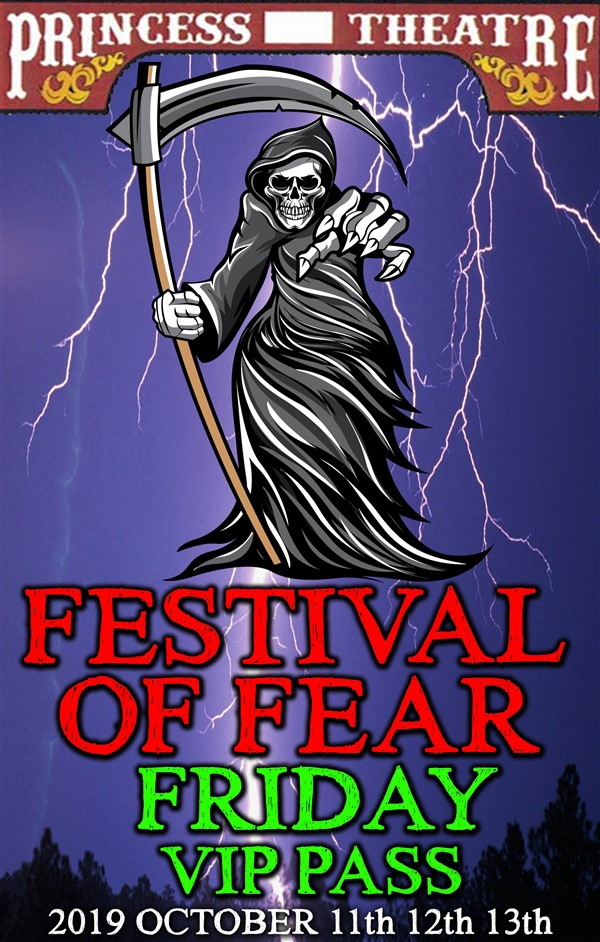 Get Information and buy tickets to FESTIVAL OF FEAR FRIDAY VIP PASS Friday October 11th, EARLY BIRD Price Only $14.95 on www.edmontonfestivaloffear.com