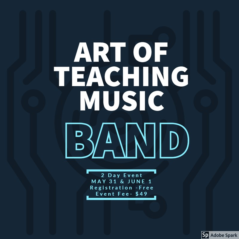 Get Information and buy tickets to Art of Teaching Music-Band Band Division Professional Development on fultonperformingarts.org