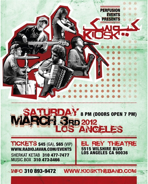 Get Information and buy tickets to Kiosk in LA  on perfusionevents.com