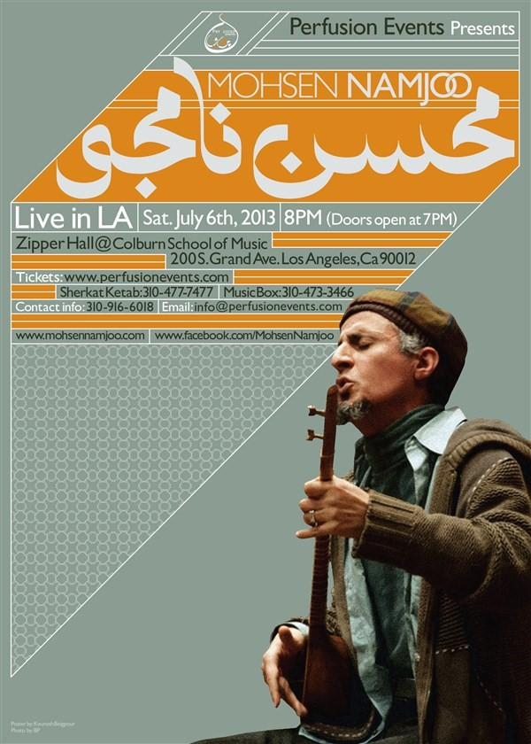 Get Information and buy tickets to Mohsen Namjoo Live in LA  on perfusionevents.com