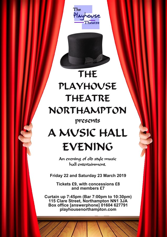 Get Information and buy tickets to Music Hall Evening  on Playhouse Theatre Northampton