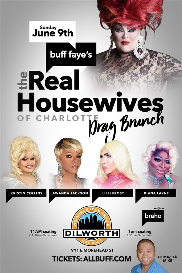 Buff Faye's QUEEN CITY REAL HOUSEWIVES Drag Brunch