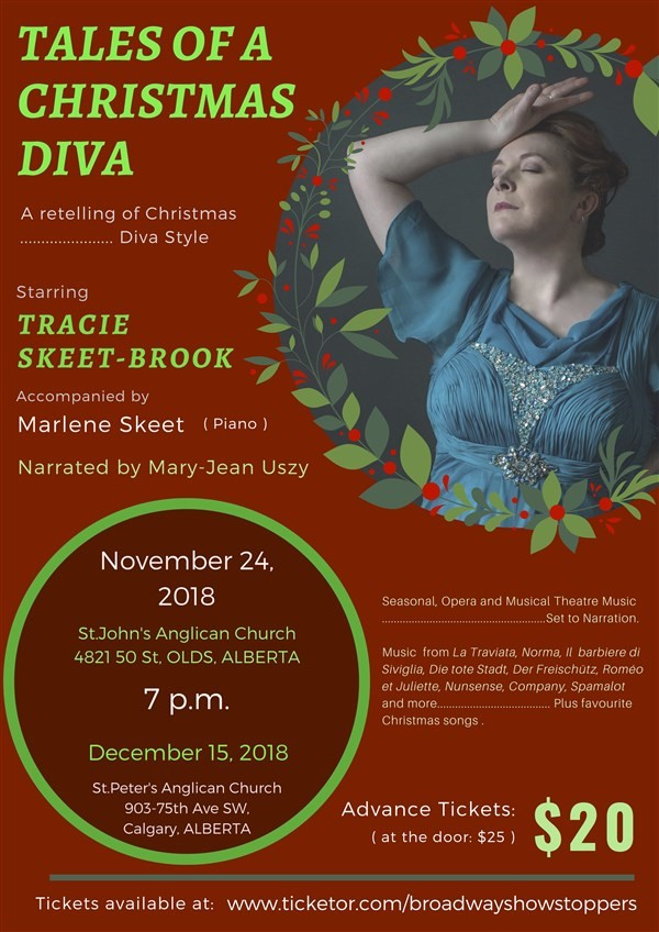 Get Information and buy tickets to Tales of a Christmas Diva A retelling of Christmas...Diva style! on Broadway Showstoppers