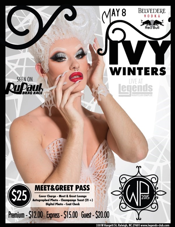 Get Information and buy tickets to 3rd Annual White Party Meet & Greet IVY WINTERS  on Legends Nightclub