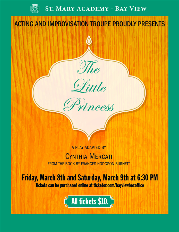 Get Information and buy tickets to The Little Princess  on Bay View Box Office