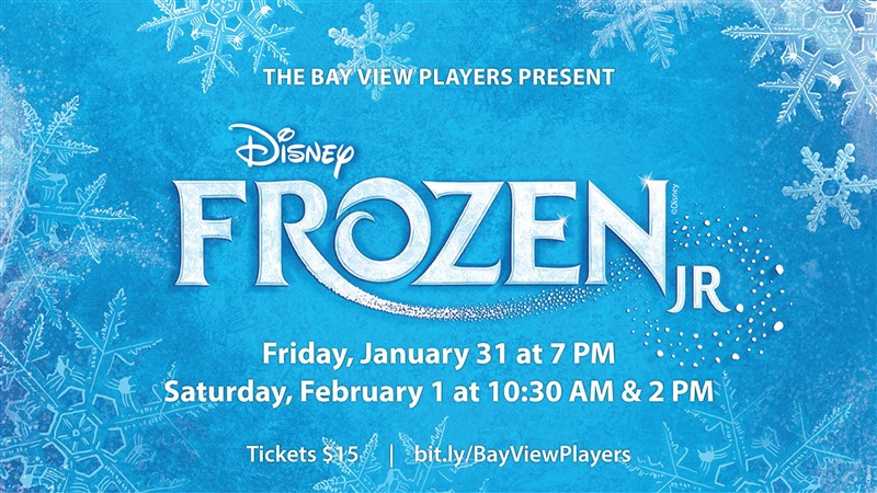 Get Information and buy tickets to Frozen Jr. January 31 - 7:00 PM on Bay View Box Office