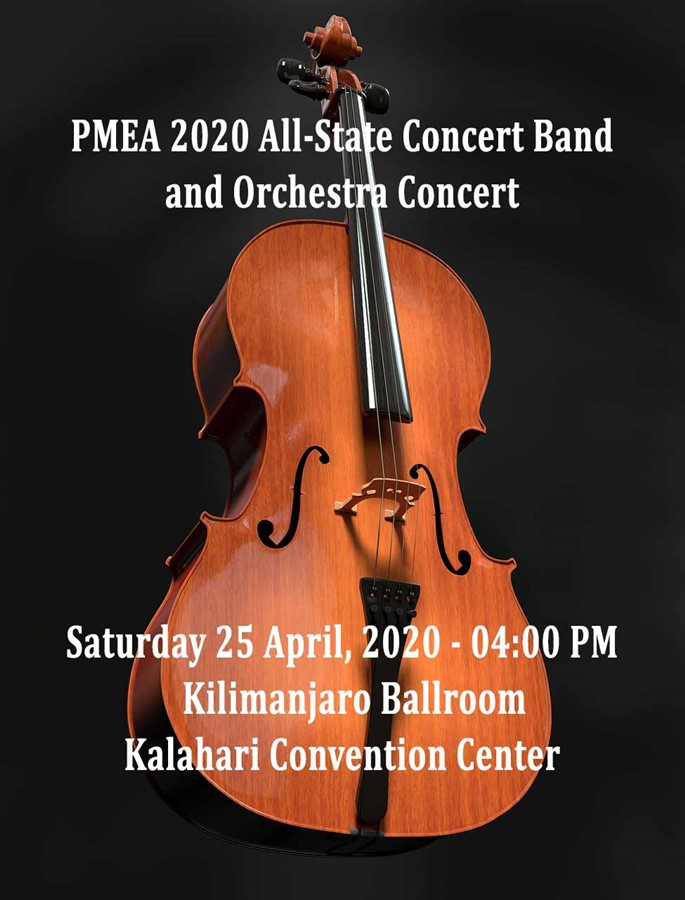 Get Information and buy tickets to 2020 PMEA All-State Concert Band and Orchestra Concert Non-refundable on PMEA