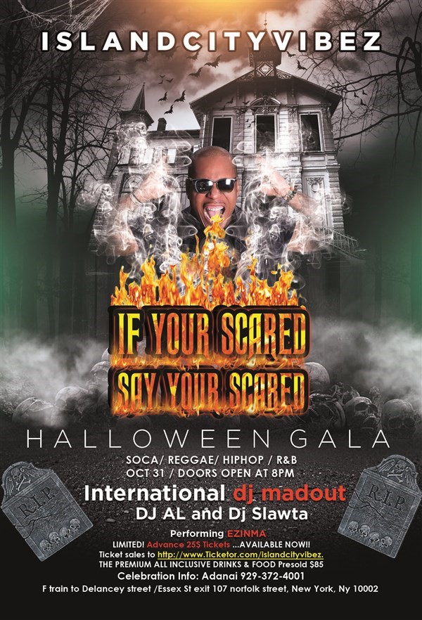 "Get Information and buy tickets to HALLOWEEN GALA ""IN THE MOON LIGHT"" on Island City Vibez"