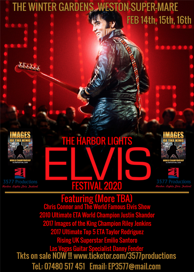 Get Information and buy tickets to The Harbor Lights Elvis Festival 2020  on www.3577productions.com