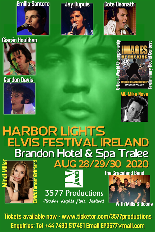 Get Information and buy tickets to Harbor Lights Ireland Brandon Hotel, Tralee on www.3577productions.com