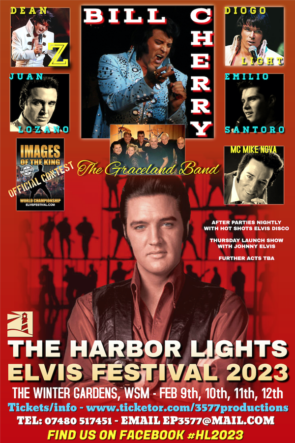 Get Information and buy tickets to The Harbor Lights Elvis Festival 2023  on www.3577productions.com