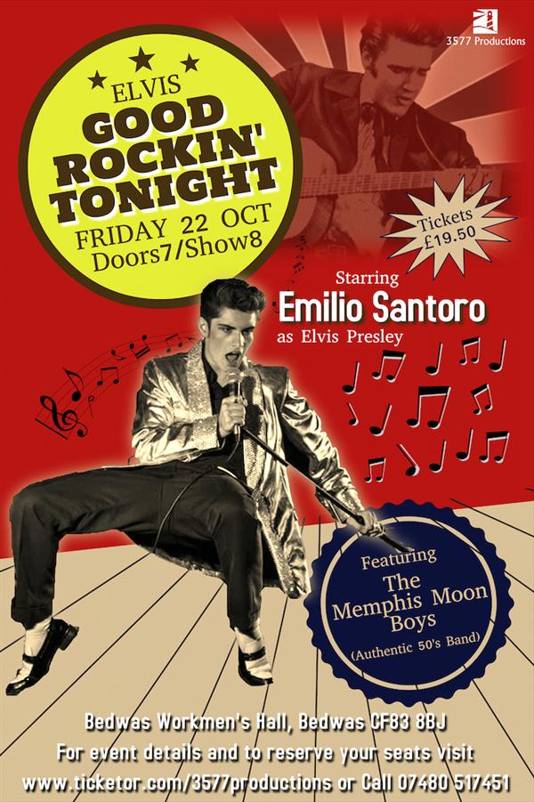 Get Information and buy tickets to Emilio - Good Rockin
