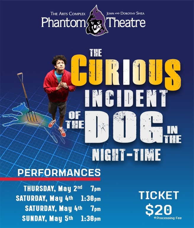 Get Information and buy tickets to The Curious Incident of the Dog in the Night-Time Spring Play 2019 on Cathedral High School - L.A.