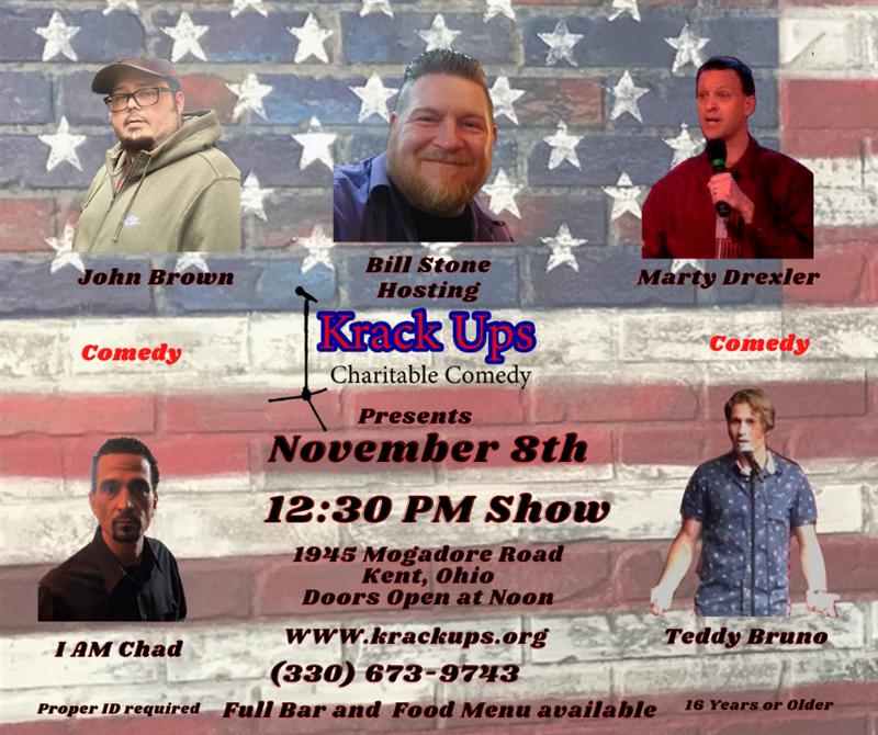 Get Information and buy tickets to Comedy Show November 8th 2020 Krack Ups on  Krack Ups