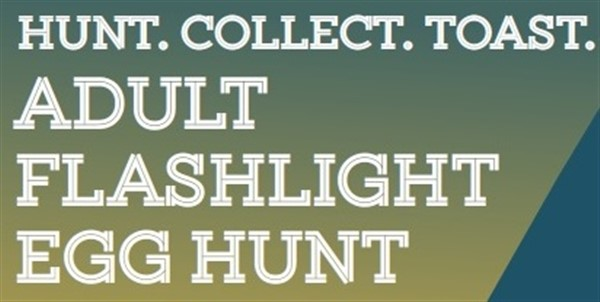 Adult Flashlight Egg Hunt