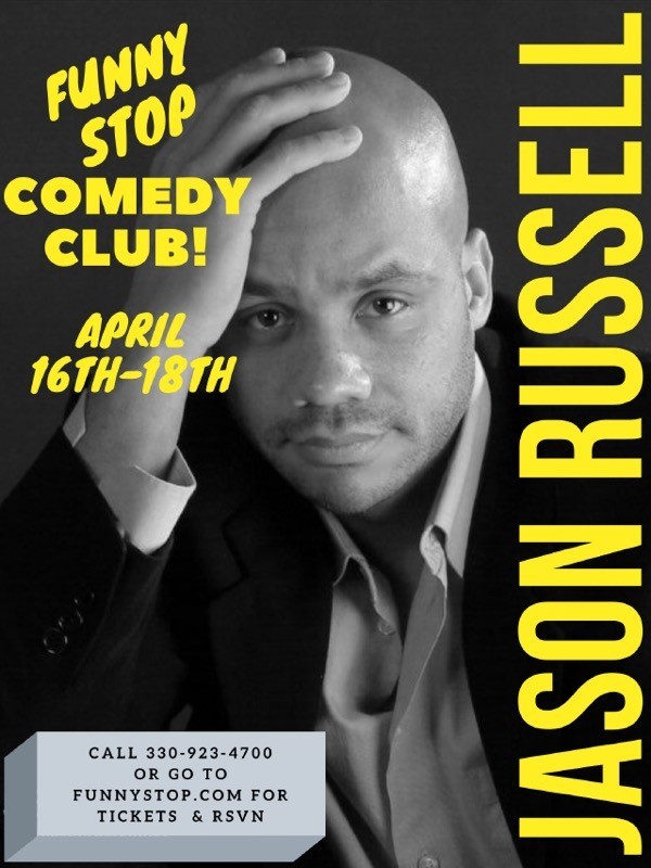 JasonRussell 9:30 Show  on abr. 17, 21:30@Funny Stop Comedy Club - Buy tickets and Get information on Funny Stop funnystop.online