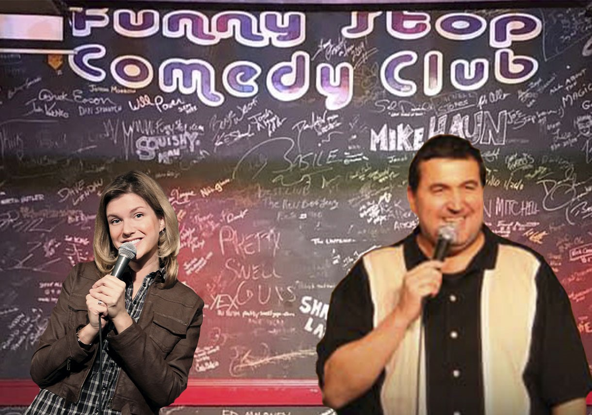 Sal Demilio and Kate Brindle 9:30 Show Co-Headliners on Aug 22, 21:30@Funny Stop Comedy Club - Buy tickets and Get information on Funny Stop funnystop.online