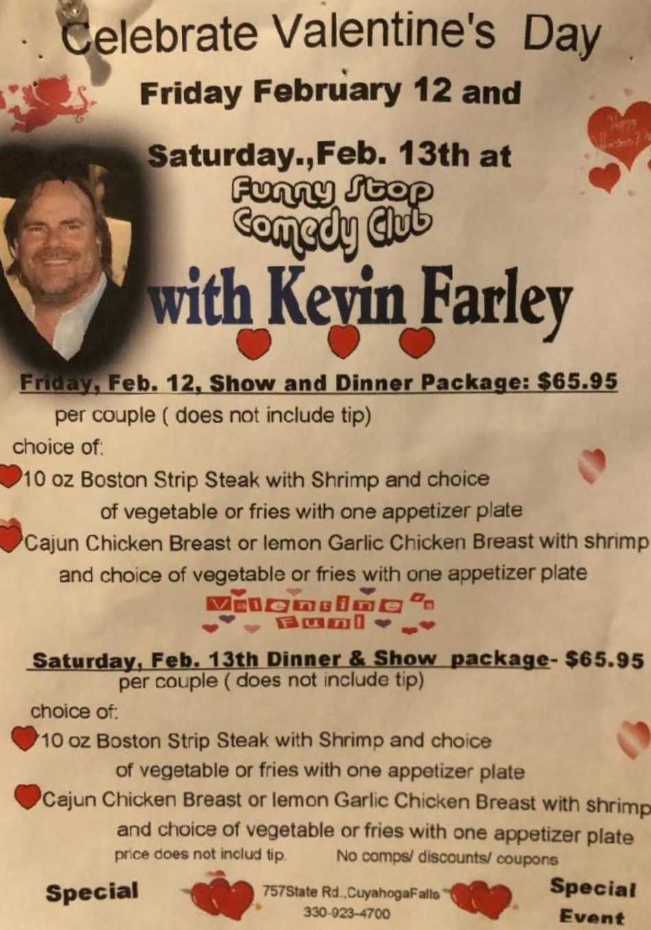 Kevin Farley 6:30 Show Funny Stop Comedy Club on Feb 12, 18:30@Funny Stop Comedy Club - Buy tickets and Get information on Funny Stop funnystop.online