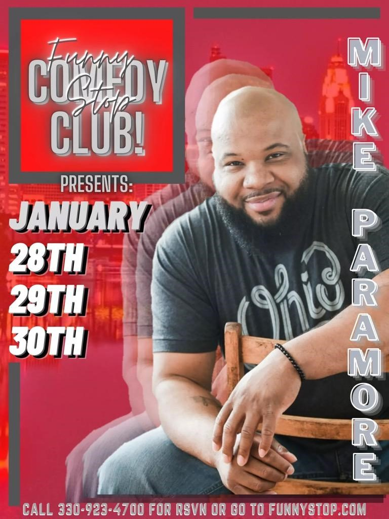 Mike Paramore 8:20 Show Funny Stop Comedy Club on Jan 30, 20:20@Funny Stop Comedy Club - Buy tickets and Get information on Funny Stop funnystop.online