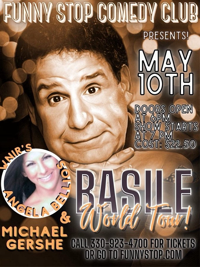 Get Information and buy tickets to Basile 7 PM Show Funny Stop Comedy Club on Funny Stop