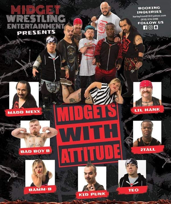 Get Information and buy tickets to Midget Wrestling  on Enduring Tickets