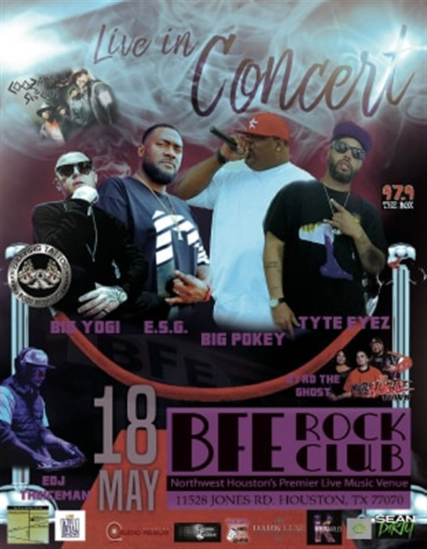 Get Information and buy tickets to Big Pokey / ESG & Big Yogi Live In Concert  on Enduring Tickets