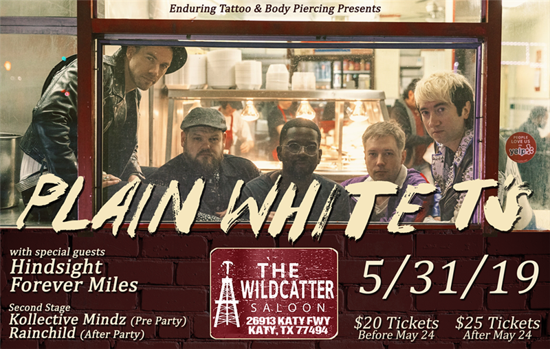 Get Information and buy tickets to Plain White Ts  on Enduring Tickets
