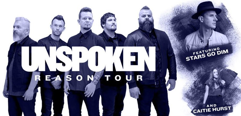 Get Information and buy tickets to UNSPOKEN Concert Reason Tour on City of Oberlin