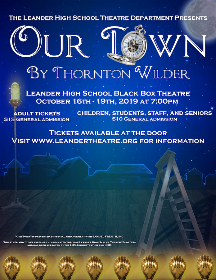 Get Information and buy tickets to Our Town  on LHS Theatre Boosters