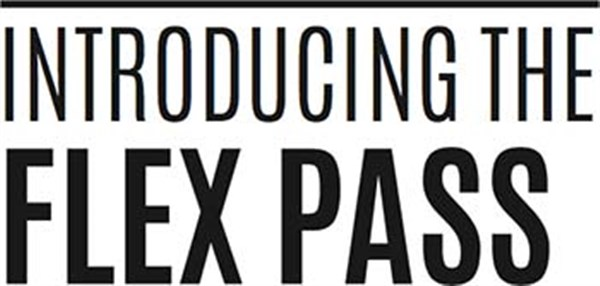 FLEX PASS Good for one year from purchase on May 18, 00:00@Reinhart Auditorium - Buy tickets and Get information on www.m-mproductions.com