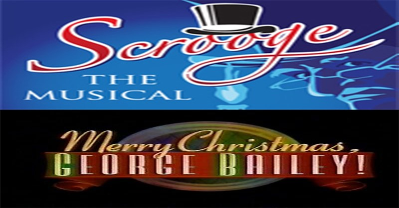Get Information and buy tickets to Scrooge/ George Bailey COMBO TICKET  on www.m-mproductions.com